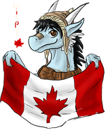 Canadian pride? HECK YAH by wispywaffle