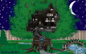 Dylan's Treehouse by HalloDream