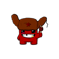 Super Meat Boy Russian edition by vivisektor