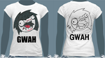 Jeff the Killer GWAH FACE T-Shirt by Alanna-MacKenzie