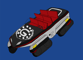 The Robotnik Family Car by chaosisters147