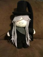Undertaker Plush by tiffanyrainbow