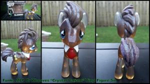 Funko DR Whooves Crystal Variant Figure 5in by Vesperwolfy87