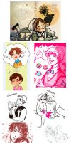 APH doodles by MoonyL00ny