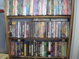 Bottom half of  DVD collection by 101boy