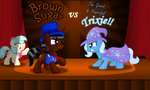 Commission: Brown Sugar vs Trixie by AleximusPrime