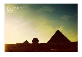 Pyramids: by egyptians