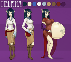 Melfina of Brindon by RiddleAugust