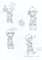 Will chibi doodles by StarChaser94