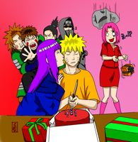 Happy Birthday Naruto Uzumaki by gozita2003