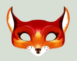 Fox Mask by Elixia-Dragmire