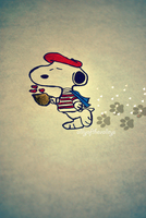 It's Snoopy by alilyofthevalleys