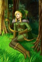 At the border of Mirkwood by NightCatty