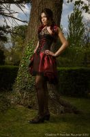 Taffeta underbust corset dress 2011 collection ' by Esaikha