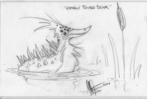 Insanely Twisted Duck by Gagne by duckness