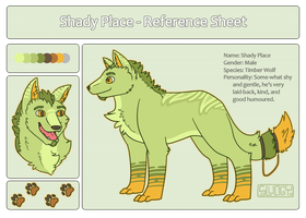 Shady Place - Reference Sheet 2013 by Sludgy