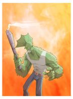 SAVAGE DRAGON by marespro13