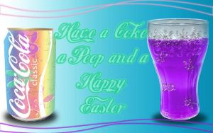 Easter Coke-A-Cola by xXxDiamondxXx