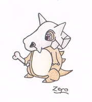 Zero the Cubone by shadowprincess104