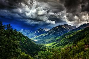 Storm in the mountains by hanswatson
