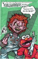 OSC Chucky loves Elmo by skulljammer