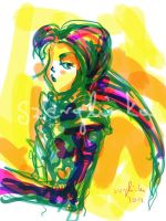 Colorful Sketch by szerglinka