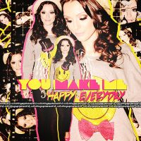You Make Me Happy Everyday Cher Lloyd by ColoringMyOwnWorld