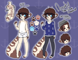 Noah's Reference sheet (Simplified version) by s-ailor