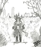 Carl Grimes - TWD by libregon