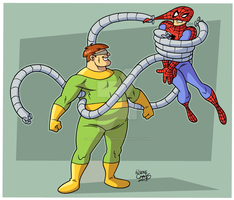 Doctor Octopus by BezerroBizarro