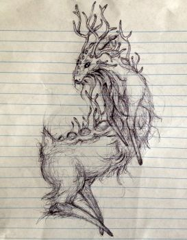Philippe the Forest Spirit by jessiccaandsox11