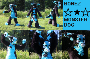 BONEZ Fursuit by Doodle-Dreams