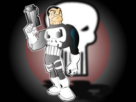 punisher by kevtoons