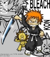Bleach by theEyZmaster