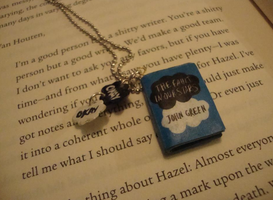 TFIOS - Polymer Clay mini book by CoolLIKEumee