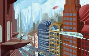 The world of Tomorrow by Thomas-Wakely