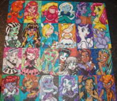 Monster High Adventure Ponies by MaryBellamy