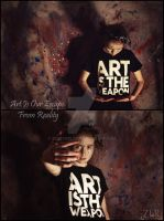 Art Is Our Escape From Reality by ZLReynolds