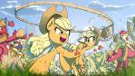 Fighting is Magic: Applejack by Yoka-the-Changeling