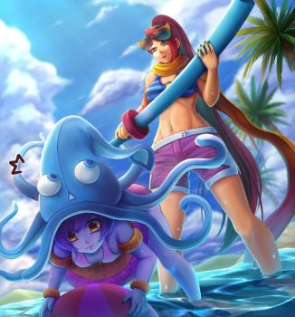 League of Summer (2) by OldLim