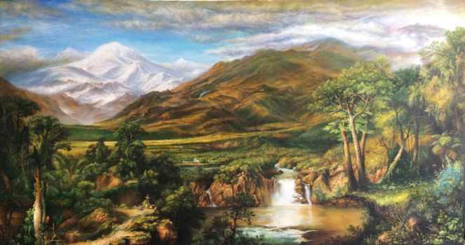 Heart of the Andes - Frederic church by fuyukikun