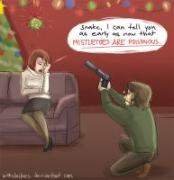 MGS3: Mistletoes by WithSkechers