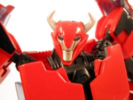 Prime cliffjumper (Close up) by scoobsterinc