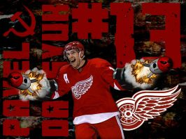 Pavel Datsyuk by jimEYE