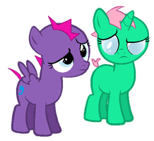 Crazy fillies by Derpyna