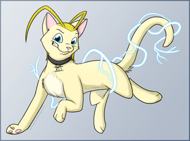 Lightning Cat Overlord by Arcticwaters