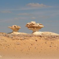 White Desert Egypt by Jenvanw