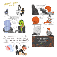 stupid mass effect comics by HedgehogBeeblebrox