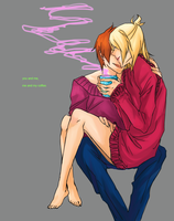 ME AND MY COFFEE by aoshin