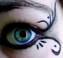 Gothic MakeUp .:: 03 ::. by Elyriah